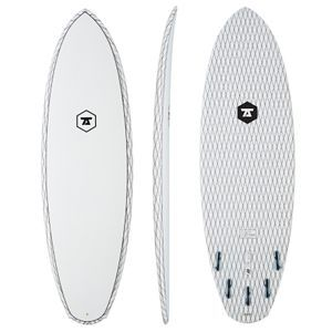 7S Surfboards - 7S Double Down Carbon Vector Surfboard - Clear