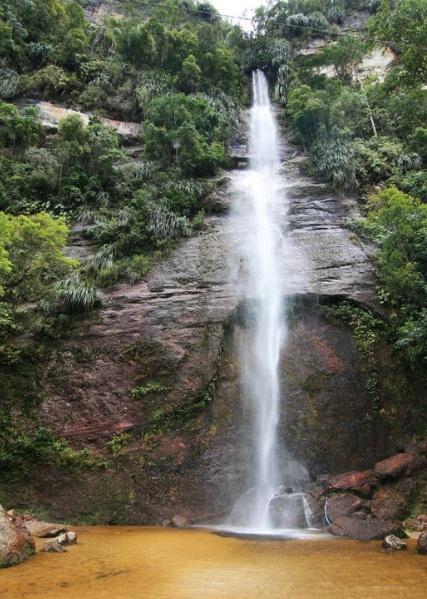 Waterfall in Harau Valley