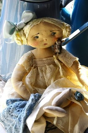 adorable cloth doll
