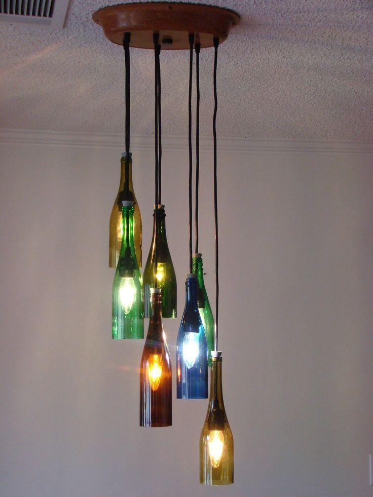 The best version of the wine bottle chandelier etsy wine the best version of the wine bottle chandelier etsy aloadofball Gallery