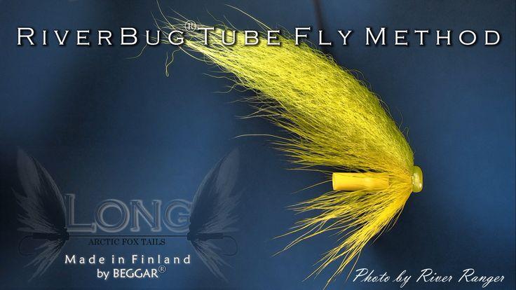 Banana tied in RiverBug(R) body tubing. www.riverbug.fi #riverbug @RiverBugFinland #river4ranger