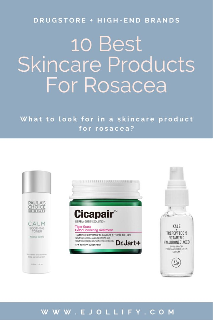 Best Skincare Products For Rosacea Skincare Routine For Rosacea Best Skincare Products Rosacea Skin Care Routine Skin Care Treatments