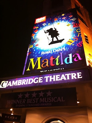 Matilda The Musical - London West End. Absolutely brilliant  Want to go see this!