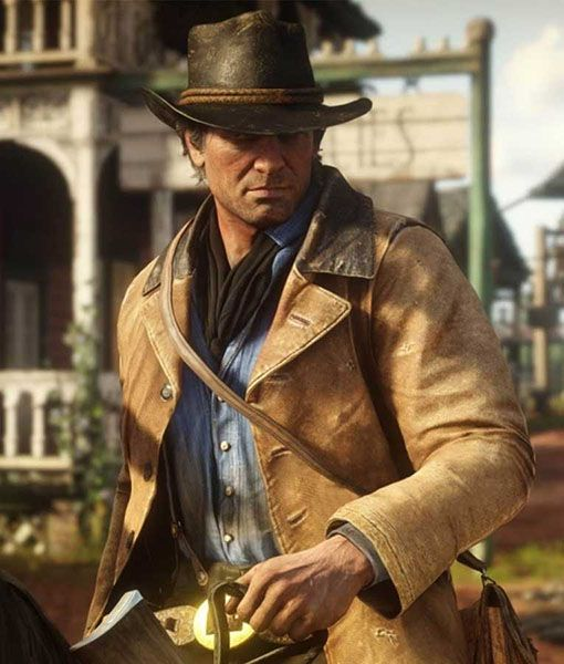 Red Dead Redemption 2 Rdr2 Arthur Jacket Red Dead Redemption