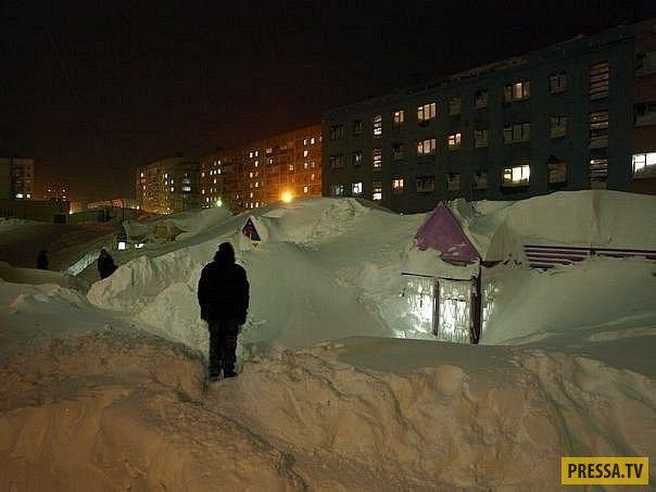 Обычная зима в Норильске (23 фото)