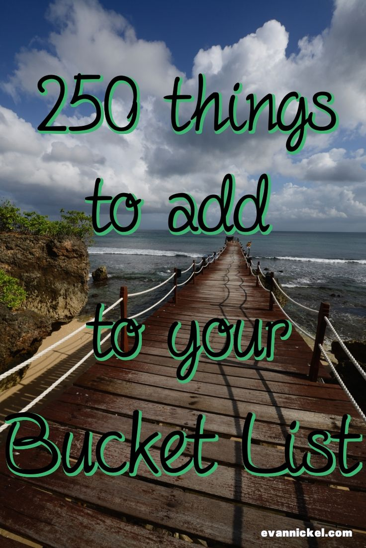Best Summer Bucket List for Teens | Epic Goals - Epic Life