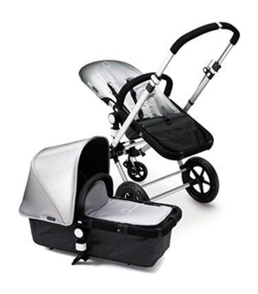 Silver Bugaboo, first sold in November 2007 exclusively at Neiman Marcus as part of their 100th anniversary.    In 2010 sold as a limited edition from select retailers around the world.