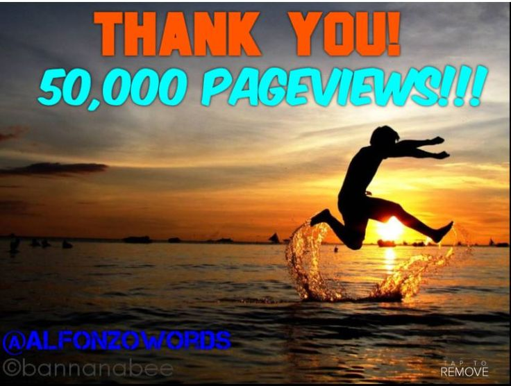 #Blogger #Author #Entrepreneur #Dreamer Finally hit 50,000 PageViews for the first time this month! Thank you, Arigato, Dankie, Ngiyabonga, Shukran, Xie Xie, Dêkuji, Merci, Efharisto, Sukria, Grazie, Kamsa Hamnida, Salamat Po, Obrigado & GRACIAS from the bottom of my Heart!  Check the Blog>>> http://alfonzowords.blogspot.co.za/ Follow me on Twitter>>> https://twitter.com/Alfonzowords/ The next milestone I'll be aiming for is 100,000 PageViews, Who's coming with me?