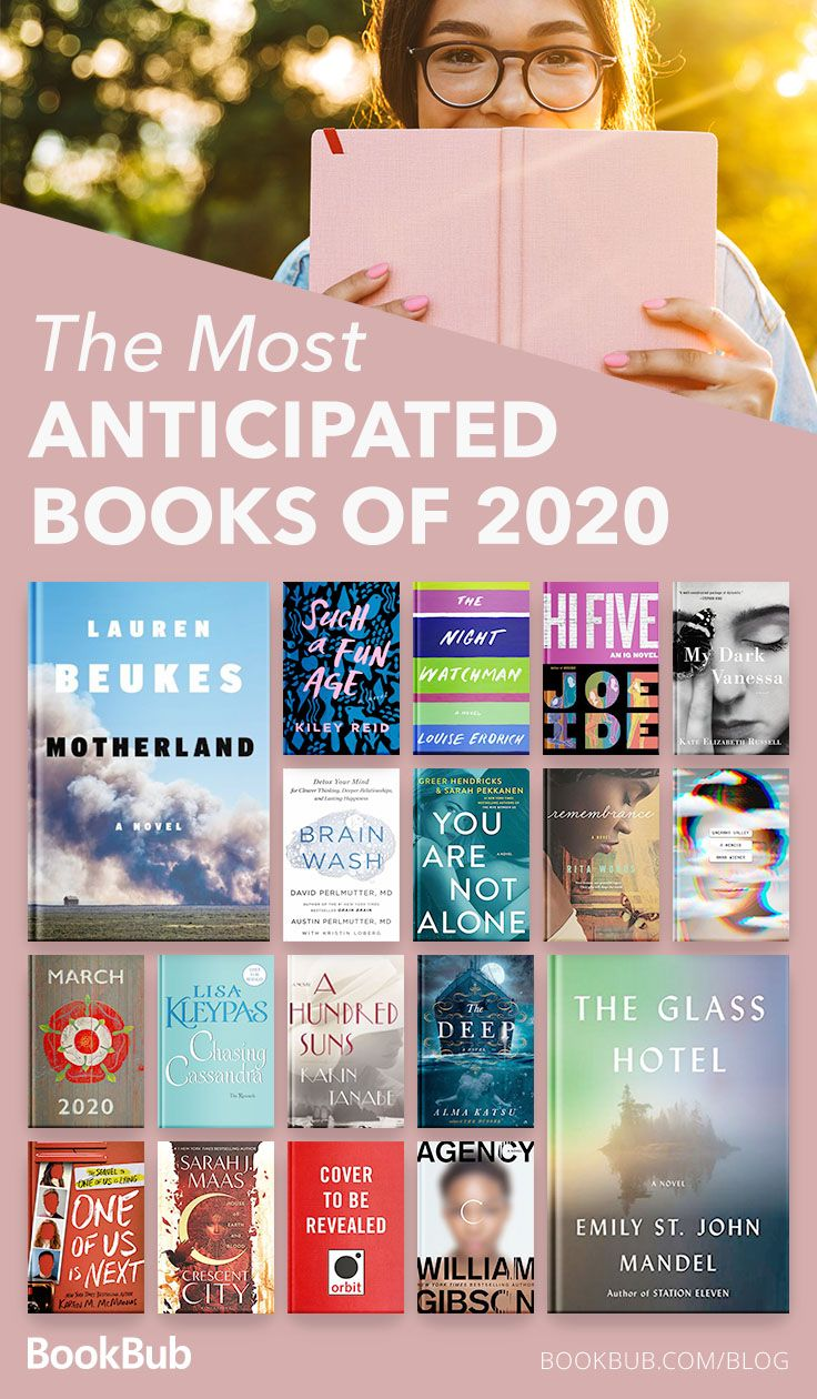 21 Books We Can't Wait to Read in 2020 in 2020 Book club