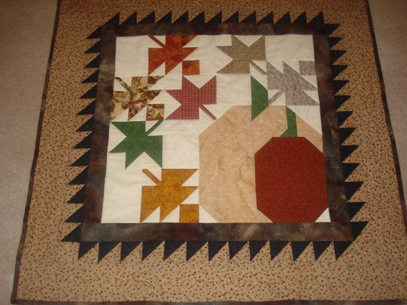 Pumpkins For Sale Wall Hanging by softpatches on Etsy