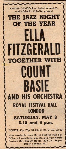 Ella and Count Basie? I wanna Go