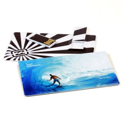 Promotional USB Card - Slider   Credit Card USB Drive   Credit Card Flash Memory