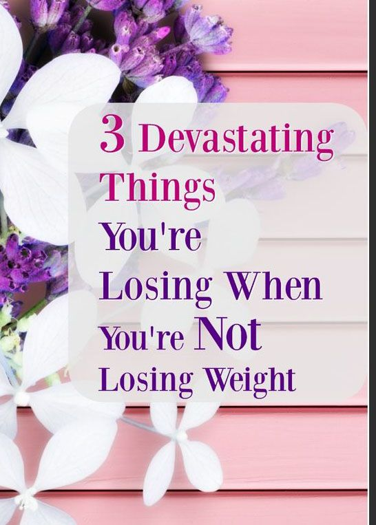 3 Devastating Things You're Losing When You're Not Losing Weight – Medi Idea