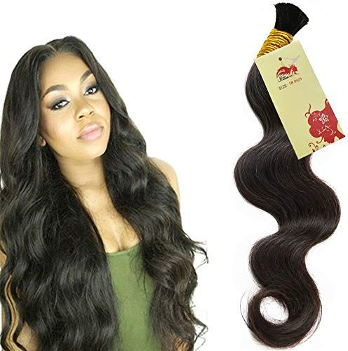 Buy Hannah Queen Wet N Wavy Bulk hair HUMAN HAIR Micro Braiding 3 Bundle 300g Brazilian Body Wave Bulk Hair For Braiding Human Hair No Weft (24 24 24 Natural Black 1B) online