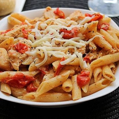 Microwave Chicken Penne Al Fresco | 31 Microwave Recipes That Are Borderline Genius