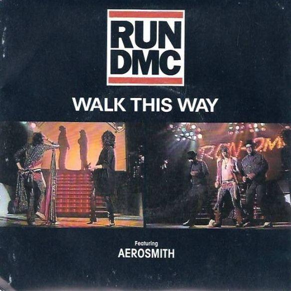 2018 Album A Day Bonus Single Run Dmc Walk This Way Ft Aerosmith Released July 4 1986 Rocksolidshow Rocksolidal Run Dmc Train Music Walk This Way