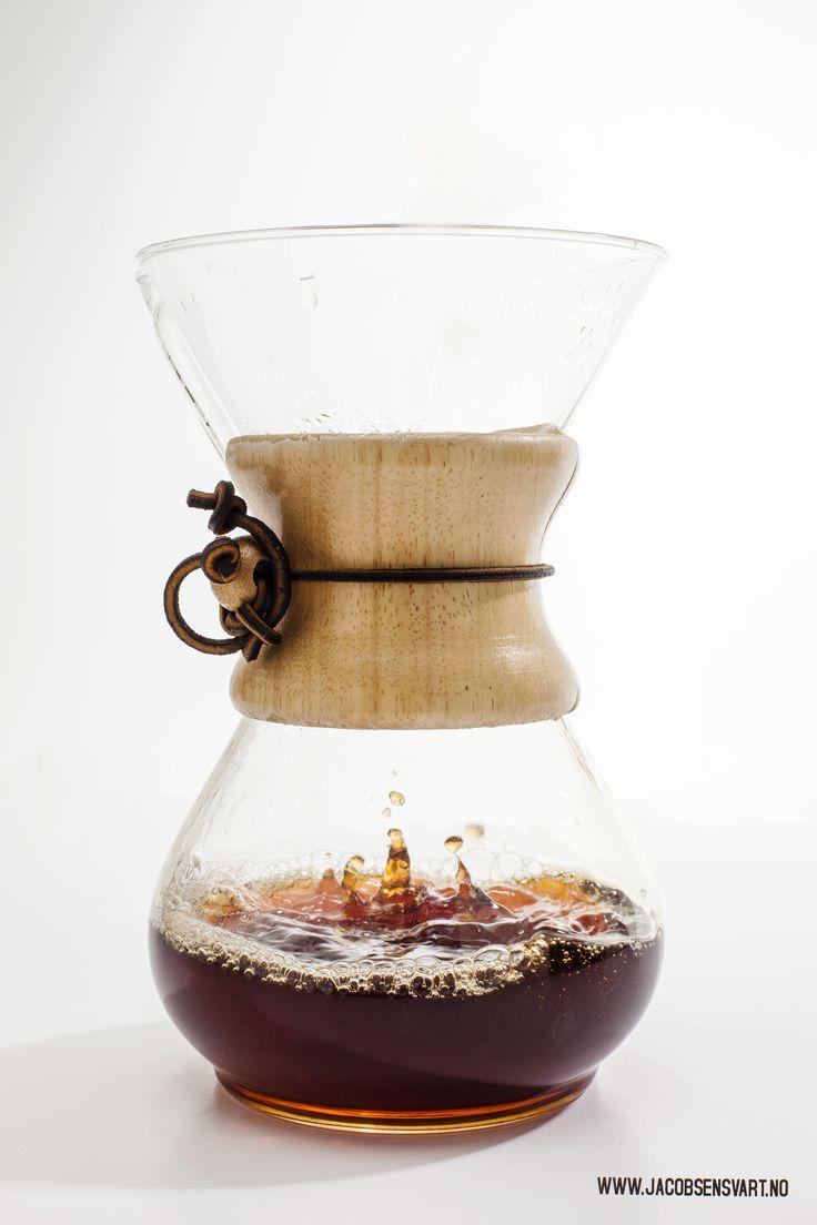 CHEMEX. Coffee Beans, High End Coffee. Third wave coffee. Handbrew. Coffee. Jacobsen & Svart, Trondheim - Norway.