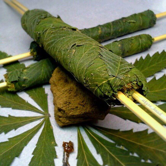 Canna Thai Sticks - The fanciest, hardest hitting, most OG art of blunt rolling @_@