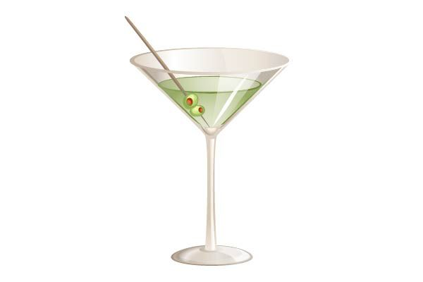Dry Martini Cocktail Vector Image  #cocktail #vector #drink #party #martini http://www.vectorvice.com/cocktails-vector-pack