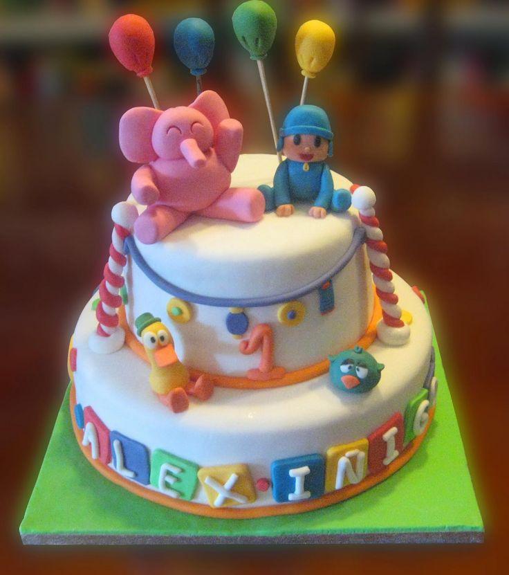 Que mejor que una tarta con pocoy y sus amigos en su - Ideas fiesta inauguracion piso ...