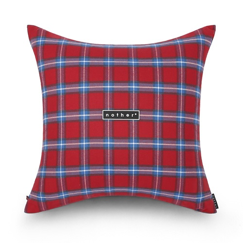 nother Tartan Check Pillow (Red)