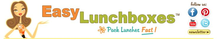 I love this website!  Lots of fun idea for lunchboxes, whether its for school, work or travel!!