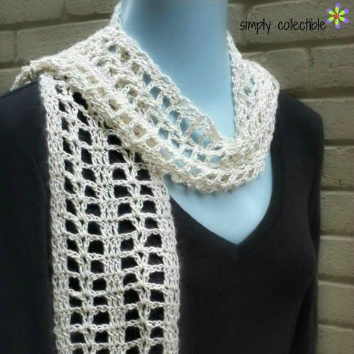 507 best Crocheted Spring/Summer Scarves images by Toni Sweeney on ...