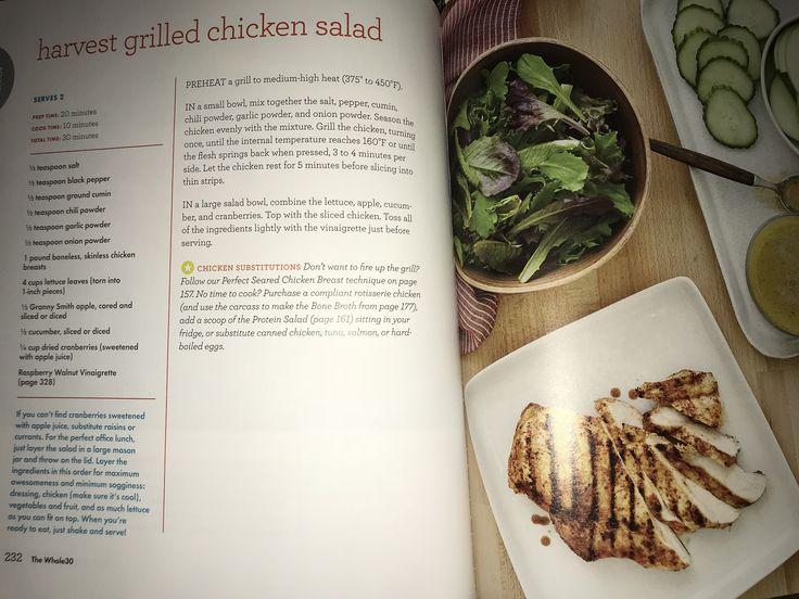 Harvest Grilled Chicken Salad