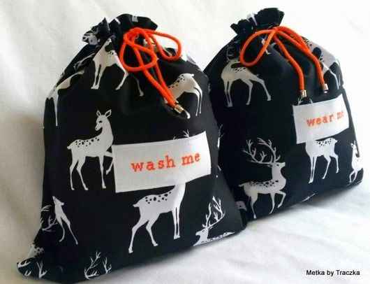Oh My Deer - torebki podr�łżne na bieliznę