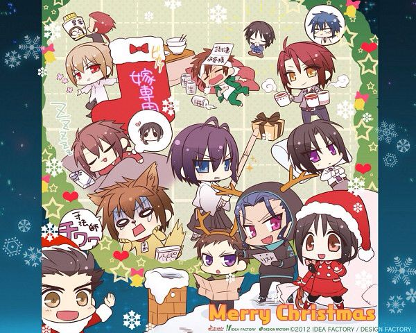 Hakuouki SSL Christmas