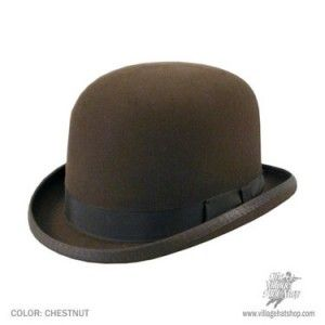 1920s bowler hat mens. Yes I own two, brown and black.