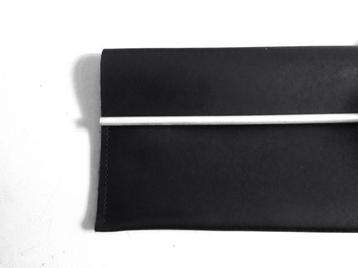 B0014  calf leather clutch + silver p r e v i e w S/S15