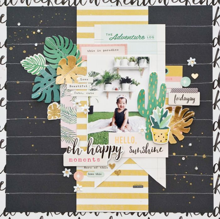 Oh Happy Moments Layout