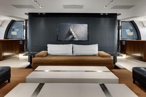 Vertigo yacht with interiors by Christian Liaigre...