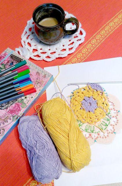 crochet coasters pattern