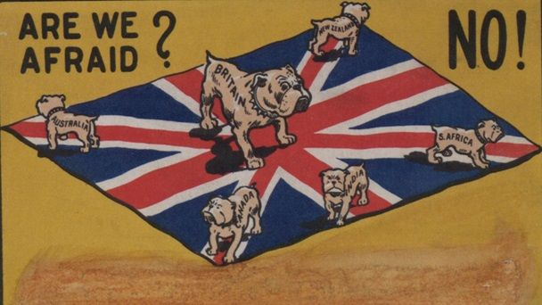 britain and australia relationship ww1