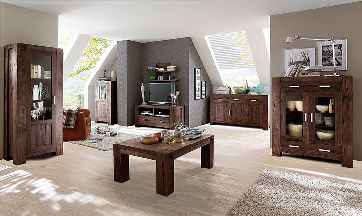 Holzdielen aus Silberahorn mit dem massiven Eiche-Wohnprogramm Braxton kombiniert.   So findet man leichter den richtigen Fußboden zu eigenen Einrichtung. Alternativ geht auch der Laminat-Simulator auf der Webseite :)