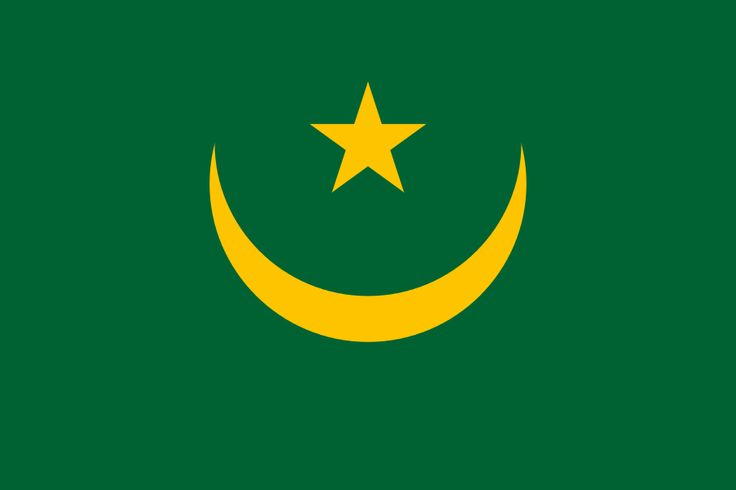 Flag of Mauritania - Gallery of sovereign state flags - Wikipedia, the free encyclopedia