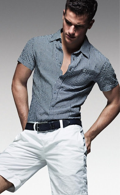 Great outfit.  Good balance between casual and formal #mens #fashion @Ashley Urban Cargo