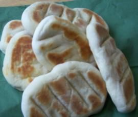 Rezept Schnelles Pfannen-Brot (ohne Backofen!) von Emily123 - Rezept der Kategorie Brot & Brötchen