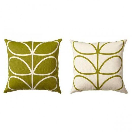 Orla Kiely Linear Stem Apple Cushion
