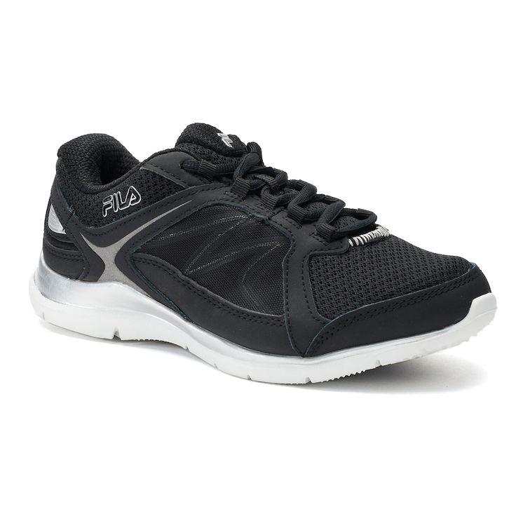 Fila® Memory Resilient 2 Women's Cross Training Shoes, Size: 9.5 Wide, Black