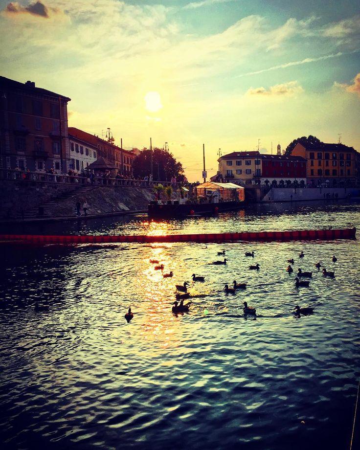 tramonto sulla Darsena   #Milano #darsena #tramonto #navigli #anatre #natura #riflessi #ig_milan #ig_milano #volgoItalia #volgoMilano #arte #volgolombardia  #paesaggio #panorama #città #riflesso #contrasti #luce #milanodavedere #milanodaclick #milanocity #milanleungranmilan #milan #milanosiamonoi #milanesi #colori #milanarchitecture #milanodavedere #fotografia #romantico 10.10.2015 by francescarollo