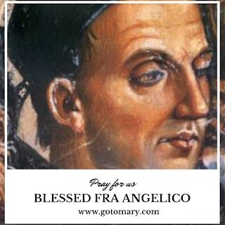 The 18th of February is the Feast day of Blessed Fra Angelico. He is the patron saint of Catholic artists. #saint #saints #saintoftheday #catholic #catholicsaint #catholicsaints