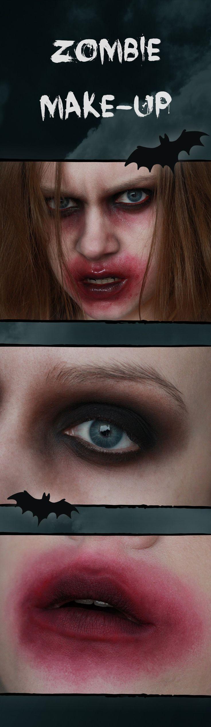 Süßes oder Saures? #halloween steht vor der Tür und man kann mittlerweile überall passende Halloween-Deko shoppen und sich Grusel-Food-#tutorials für #halloweenpartys anschauen. Und um selbst auf solchen Partys optisch auftrumpfen zu können, erklärt euch Beauty.by.Miri step-by-step wie ihr ein gruseliges Zombie-Make-up ganz einfach selbst schminken könnt – in weniger als 30 Minuten.
