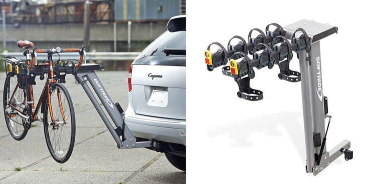 Softride Dura Assist Hitch-Mounted Bike Rack - BestProducts.com