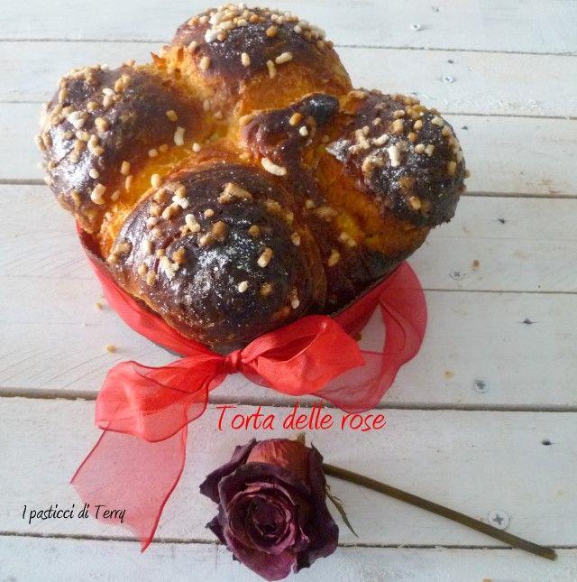 Un #dolce #lievitato #soffice, #profumato e tanto #buono #panissimo42 http://www.ipasticciditerry.com/torta-delle-rose-del-corso-giorilli/