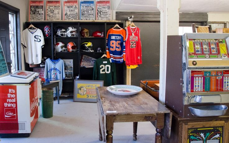 Huge selection of vintage everything in our showroom!