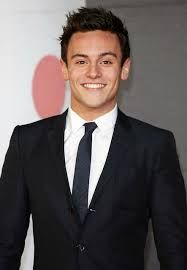 tom daley suited up