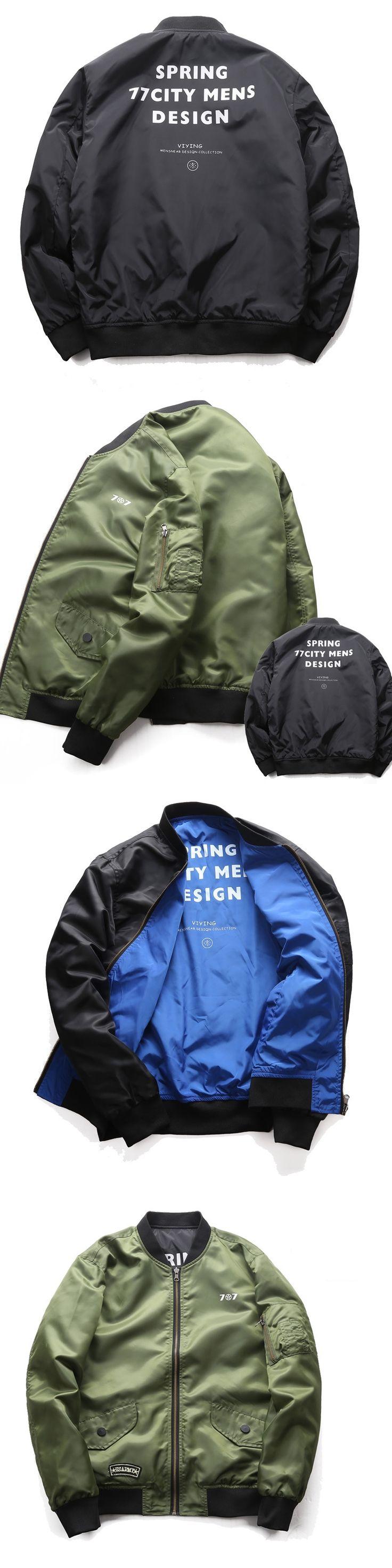 Men Bomber Jacket 2017 New Winter Spring Men Army Green Merch Flight Coats Fashion Air Force One 6XL Jacket